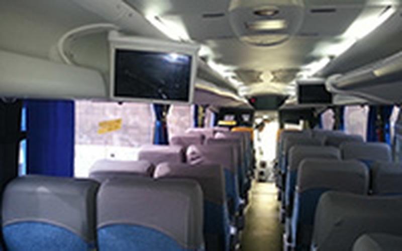 Locação de ônibus Executivo com Ar Condicionado Jaboticabal - ônibus Executivo para Congonhas