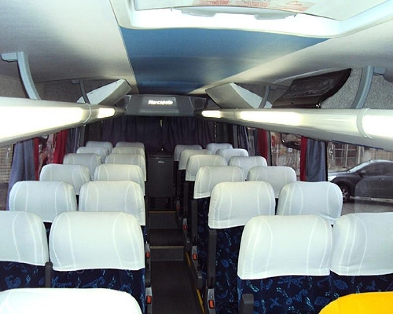 Micro ônibus Aluguel Preço Ribeirão Pires - Micro ônibus Aluguel