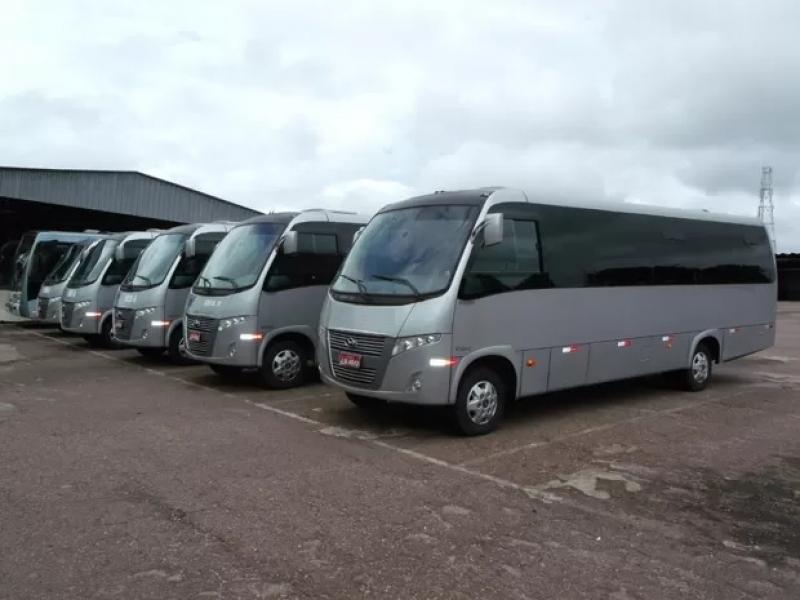 Micro ônibus Executivo Praia Grande - Micro ônibus Aluguel
