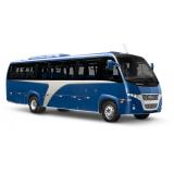 a procura de micro ônibus rodoviário executivo Santos