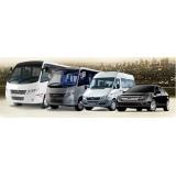 Aluguel de Van e ônibus