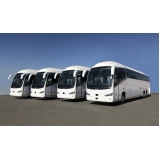 companhia de aluguel de ônibus de viagem corporativa Santos