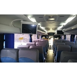 locação de ônibus executivo para empresa Guarapiranga