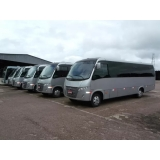micro ônibus de turismo Jockey Club