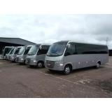 micro ônibus para empresa Santos