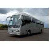 ônibus fretado para traslado Santa Cecília